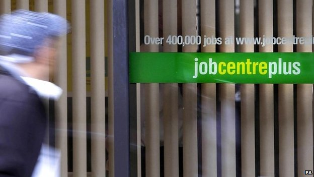 UK unemployment falls to 1.86m