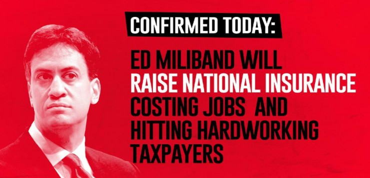 Ed Miliband Will Raise National Insurance